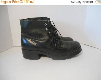 Mens Vintage FRYE black Leather Boots Usa Size 10 M ?            riding engineer