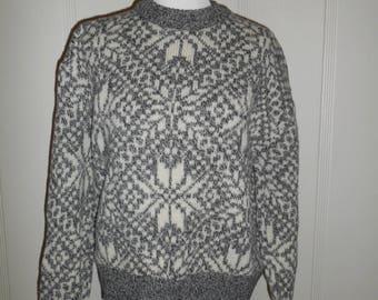 Knit wool pullover jumper sweater