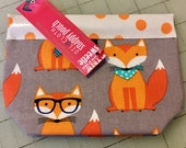 Special Listing for CENTAS6 Hipster Fox - Tiny