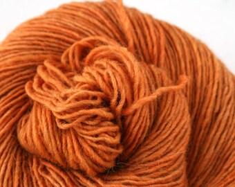 Olana fingering weight cormo alpaca angora blend yarn 300yds/274m 2oz/57g Ichabod's Pumpkin