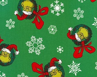 Dr. Seuss How The Grinch Stole Christmas 7 , The Grinch Wreths on Green, yard