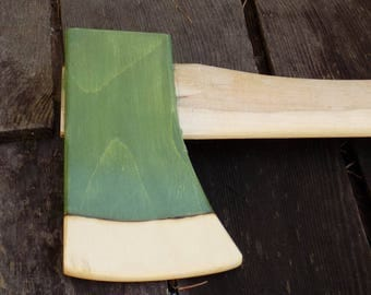 Kids' Fire Axe with a real camp axe handle