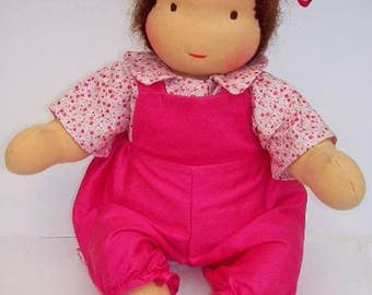 "Instant Download PATTERN 16"" Jointed Waldorf Doll Steiner dolls (button free)"