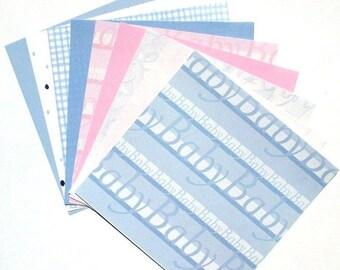 50% OFF - In The Nursery - 6x6 Memory Block Paper Pack