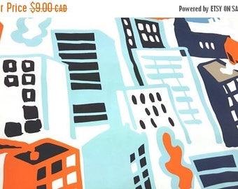 SALE - Cityscape - IKEA Gitte Cotton Fabric