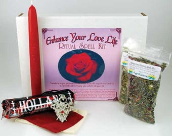Attract Lover-Love Spell Boxed Ritual Kit-Spells for Love, Spells that work, spell kits, altar kits, witchcraft spells, witch spells,