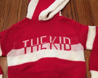 70s The Kid Sweater 9/12 Months