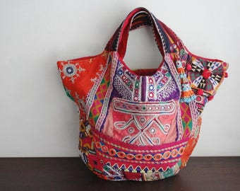 DAZZLING Patchwork Hobo - Hip/Tribal/Ethnic/Unique/Bohemian patchwork bag - 2054