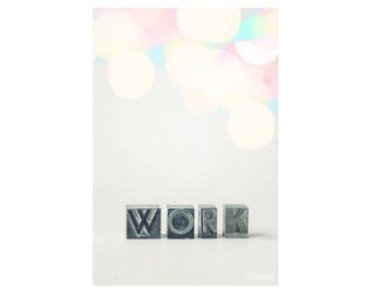 Work It Out; fine art photography, modern, wall art, office art, student art, loft art, wall decor, letterpress art, colorful, by F2images