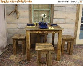 """ON SALE Driftwood Table (64"""" x 64"""" x 30 or 36""""H) Custom Request, New pictures soon"""