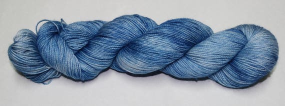 Ready to Ship - It Rains A Lot In Scotland Hand Dyed Sock Yarn - Twist Sock