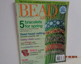 Bead and Button  April 2007