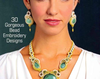 Book - Soutache: 30 Gorgeous Bead Embroidery Designs (Lark Jewelry & Beading Bead Inspirations) Flexibound – Anneta Valious - Softback