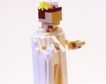 LEGO Graduate in White Robes