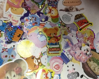 sticker flakes 100 pieces