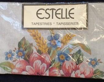 Estelle Tapestry Canvas Poppies K6001