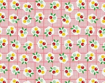 EXTRA20 20% OFF Nadra Ridgeway Backyard Roses Berries Pink