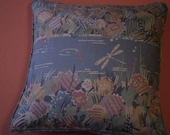 """17"""" cushion cover collier Campbell fabric Water Meadow col. 18"""