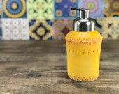 Foam soap dispenser: Ceramic soap dispenser mango foaming soap pump mango yellow bathroom accessory handmade soap dispenser brushed nickel