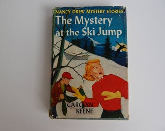 1952 #29 The Mystery at the Ski Jump by Carolyn Keene / Hardcover with Dust Jacket / Nancy Drew Mystery Stories