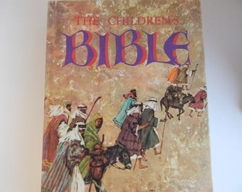 1965 Edition The Children's Bible / Hardcover / Illustrated