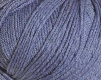 West Point Blue Heather Cascade 220 Superwash Yarn 220 yards 100% SuperWash Wool color 1944
