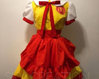 Loli's McDonalds Uniform