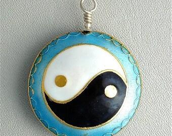 OnSale Yin Yang symbol pendant.