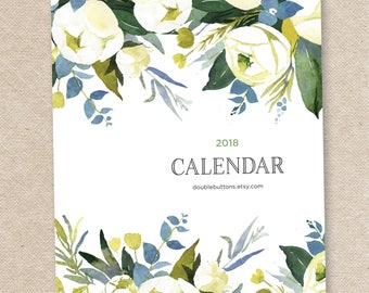 2018 Desk Calendar with stand/CD case OPHELIA