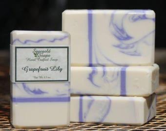 Grapefruit Lily Handmade Artisan Soap