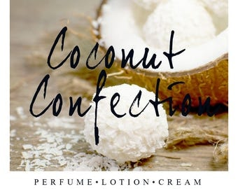 Coconut Confection Scent of the Month | Summer Coconut Fragrance | Perfume, Lotion, Cream, Oil, and Scrubs