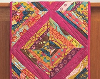 CLEARANCE BOOK! A Modern Twist - Create Quilts with a Colorful Spin by Natalie Barnes with Angela Walters