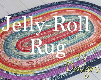 Jelly Roll Run Pattern From R.J. Designs By Roma Lambson # RJD100