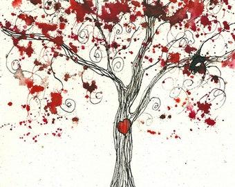 Valentine Tree, PRINT