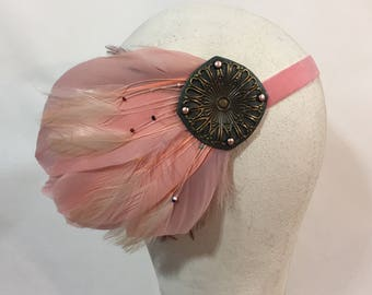 Blush Flapper Band