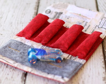Car Wallet.  Car Carrier. Toy Car Carrier. Travel Toy. Car Play Mat. Gift for Boys. Car Holder. Montessori Toys. Travel Wallet. Toy Car.