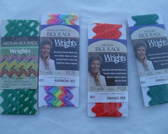 Rick Rack Ric Rac Vintage NOS and New