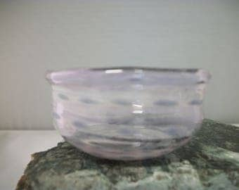 Shallow Purple Small Bowl