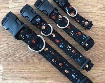 Heart Steps Dog Collar Collection, Coordinating  Collars, Leashes, Key Fob, Friendship Bracelet and More