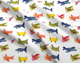 Etsy your place to buy and sell all things handmade for Airplane fabric by the yard