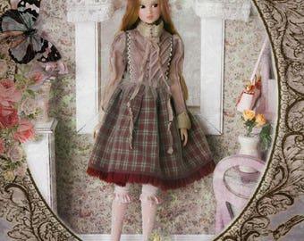 Jiajia Doll limited 3 pieces Poetic Opern set in red for Momoko Misaki Azone Ruruko Dorandoran Fashion Royalty Barbie