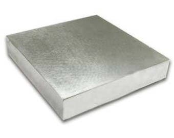 """4"""" x 4"""" x .5"""" Steel Stamping Block Tools for Jewelry Stamping Metal Stamping Bench Block Metal Block Stamping Block"""