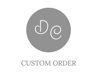 A Custom Order for Julian Liang