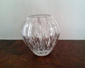 Leaded Glass Rose Bowl