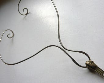 "Necklace metal diversion ""Zip"" zipper"