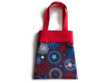4th of July Gift Bag - Goodie Bag - Mini Tote