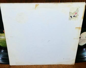 The Beatles White Album Vintage Vinyl Double Album Original Pressing