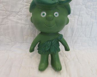 Vintage Jolly Green Giant Little Sprout rubber doll