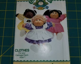 Craft Cabbage Patch Doll Dress and Pinafore Butterick 6509