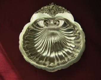 """Lovely Vintage Silverplated Nut or Candy Dish by Wallace """"Baroque"""" # 277"""